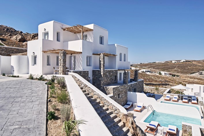 Katikies Villas Mykonos Three Bedroom Villa 7
