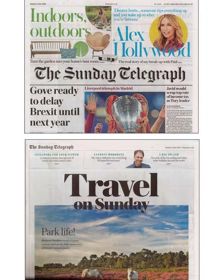 The Sunday Telegraph Pillowtalk 02 June 2019 Opt 1